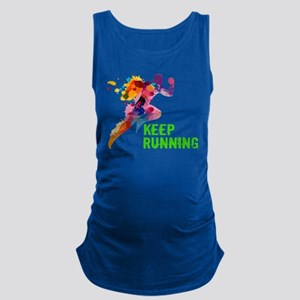 Keep Running Maternity Tank Top