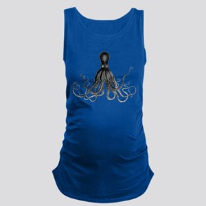 Vintage Octopus Maternity Tank Top
