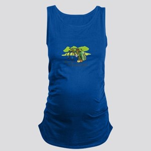 WORRIES BEHIND YOU Maternity Tank Top