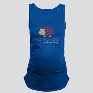 Happy Hedgehogs Maternity Tank Top
