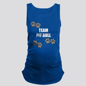 Team Pit Bull Maternity Tank Top