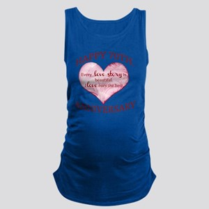 70th. Anniversary Maternity Tank Top