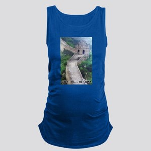 Great Wall Of China Maternity Tank Top