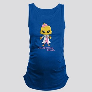 Phlebotomy Chick Maternity Tank Top