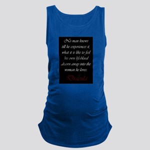 Drawn Into The Woman He Loves Maternity Tank Top