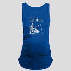 Fishing Maternity Tank Top