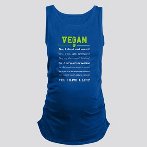 Vegan Shirt Maternity Tank Top
