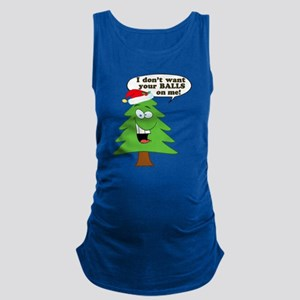 0ed165b7 Funny Christmas Maternity Tank Tops - CafePress