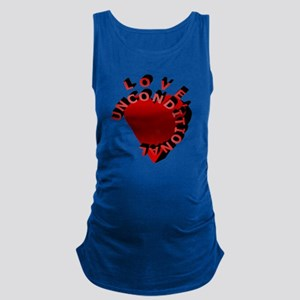 Love Unconditional Maternity Tank Top