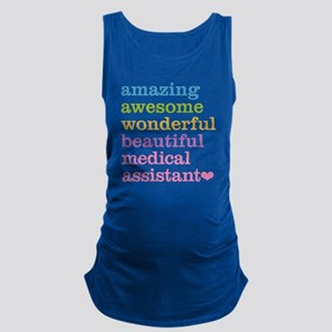Amazing Medical Assistant Maternity Tank Top