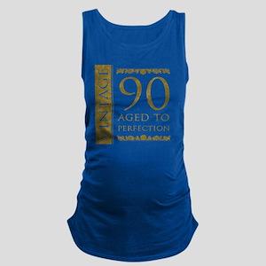7060ae80 Fancy Vintage 90th Birthday Maternity Tank Top