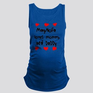 Magnolia Loves Mommy and Daddy Maternity Tank Top