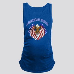American Pride Eagle Maternity Tank Top
