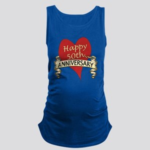 50th. anniversary Maternity Tank Top