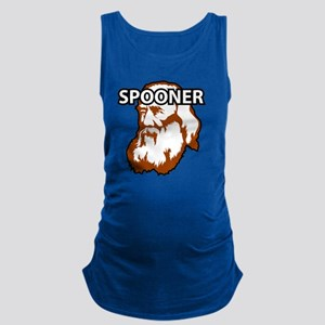 Spooner_whiteFront Maternity Tank Top