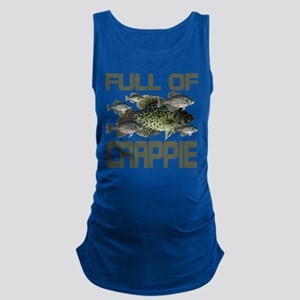 Full of Crappie Maternity Tank Top
