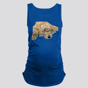 Goldendoodle Stella Maternity Tank Top