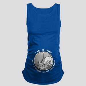 Phone Jammies Maternity Tank Top