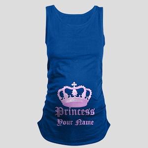 Custom Princess Maternity Tank Top