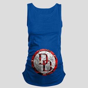 Daredevil Symbols Maternity Tank Top