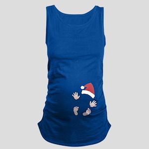 Santas Little Surprise Baby Hands and Feet Materni