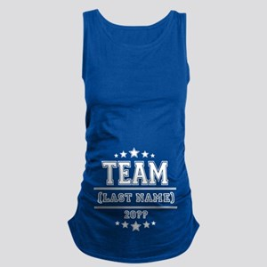 Team Family Maternity Tank Top
