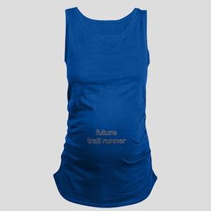 Future Trailrun Blue Dark Maternity Tank Top