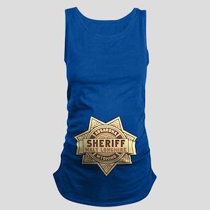 Sheriff Longmire Maternity Tank Top