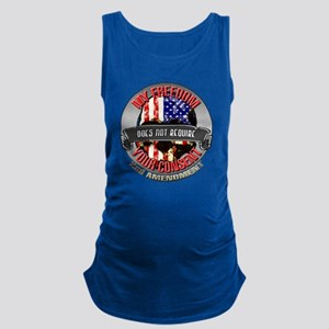 Freedom Requires No Consent Maternity Tank Top