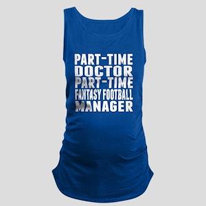 Fantasy Football Doctor Maternity Tank Top