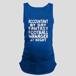 Accountant Fantasy Football Manager Maternity Tank