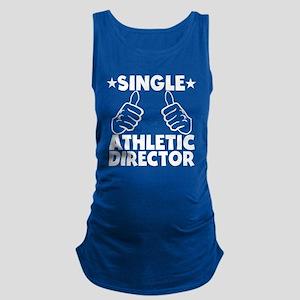 Single Athletic Director Maternity Tank Top