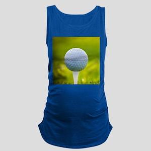Golf Ball Maternity Tank Top