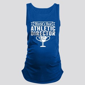 World's Best Athletic Director Maternity Tank Top