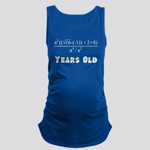 Algebra Equation 18th Birthday Maternity Tank Top