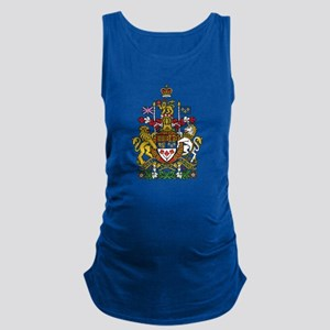 Canada Coat Of Arms Maternity Tank Top