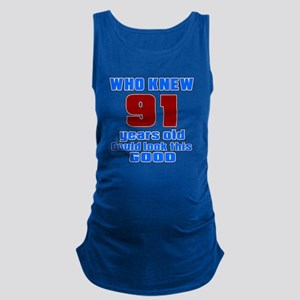 91 Years Old Could Look This Go Maternity Tank Top