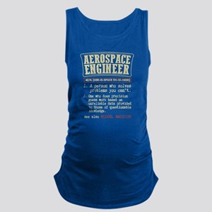 Aerospace Engineer Funny Dictionary Term Tank Top
