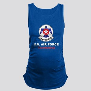 United States Air Force Thunder Maternity Tank Top
