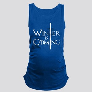 Game Of Thrones - Winter Is Com Maternity Tank Top