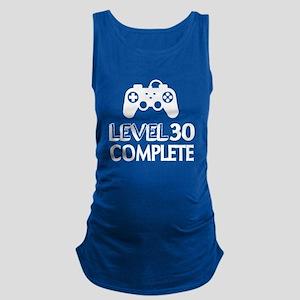 Level 30 Complete Birthday Desi Maternity Tank Top