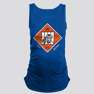 Monopoly - In Jail Maternity Tank Top