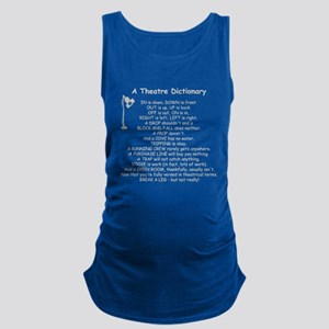 A Theatre Dictionary Maternity Tank Top