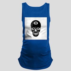 pool skull copy Maternity Tank Top