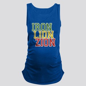 Iron Lion Zion Maternity Tank Top