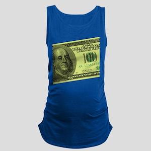 100-dollar-closeup Maternity Tank Top