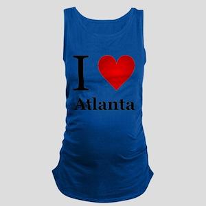I Love Atlanta Maternity Tank Top