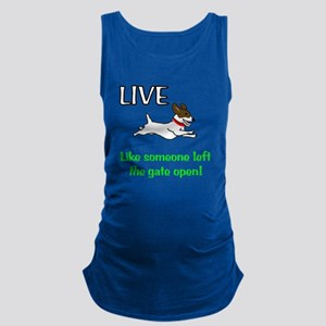 Live the gates open Maternity Tank Top