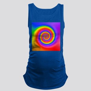 Colorful Spiral Maternity Tank Top
