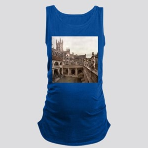 Roman Baths and Abbey Maternity Tank Top